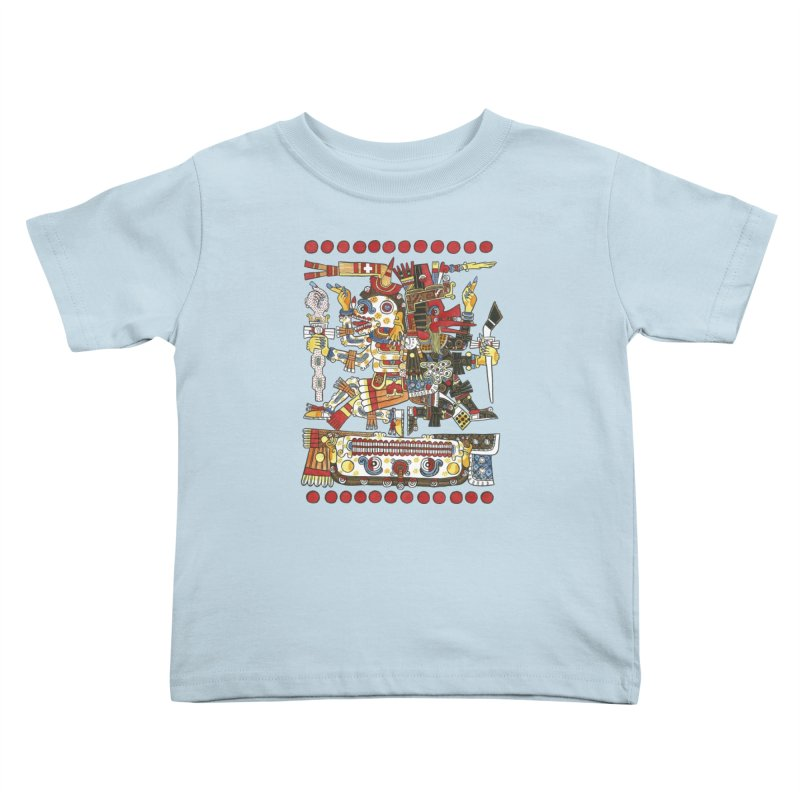 Codex Borgia Detail Kids Toddler T-Shirt by Art On Everything