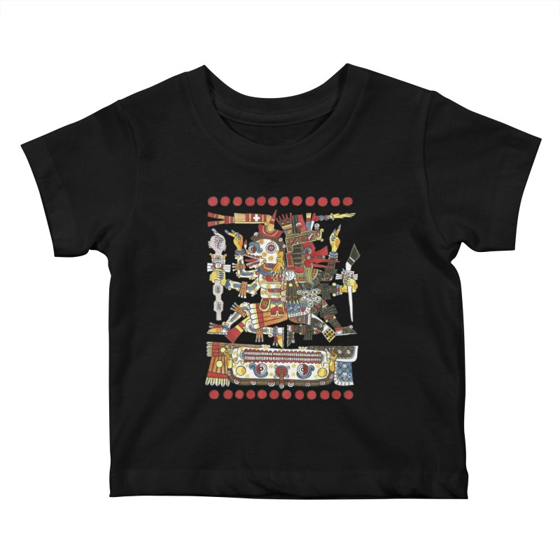 Codex Borgia Detail Kids Baby T-Shirt by Art On Everything