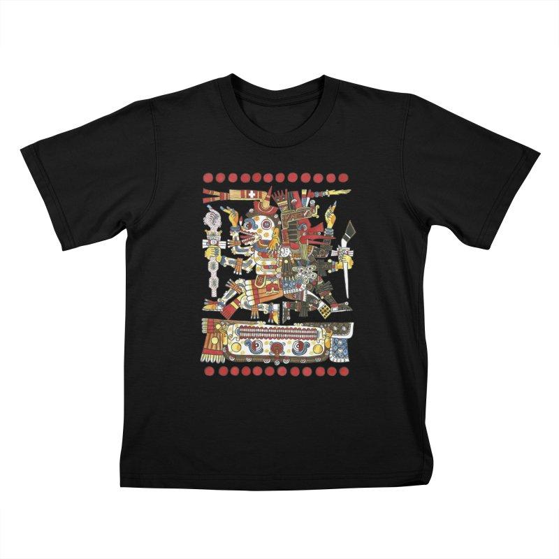 Codex Borgia Detail Kids T-shirt by Art On Everything