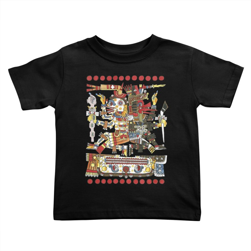 Codex Borgia Detail Kids Toddler T-Shirt by Art On Everything