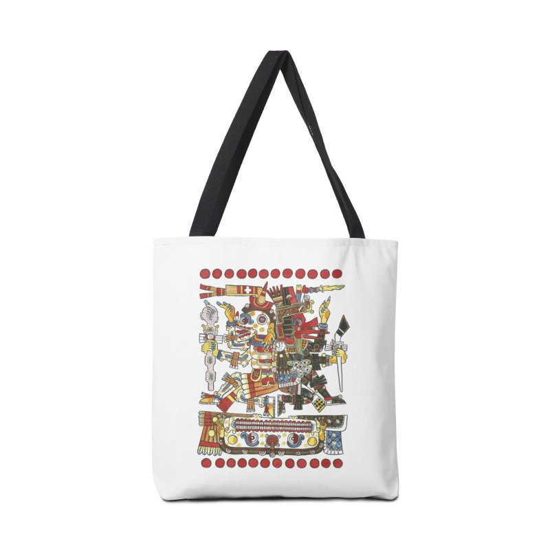 Codex Borgia Detail Accessories Bag by Art On Everything