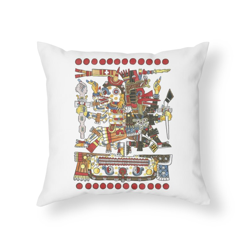 Codex Borgia Detail Home Throw Pillow by Art On Everything