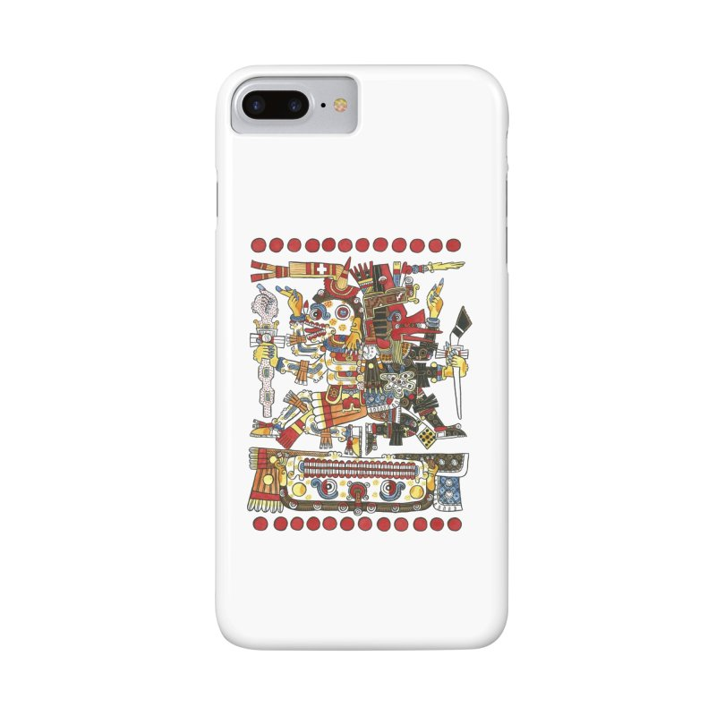 Codex Borgia Detail Accessories Phone Case by Art On Everything