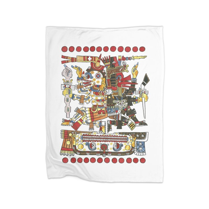 Codex Borgia Detail Home Blanket by Art On Everything