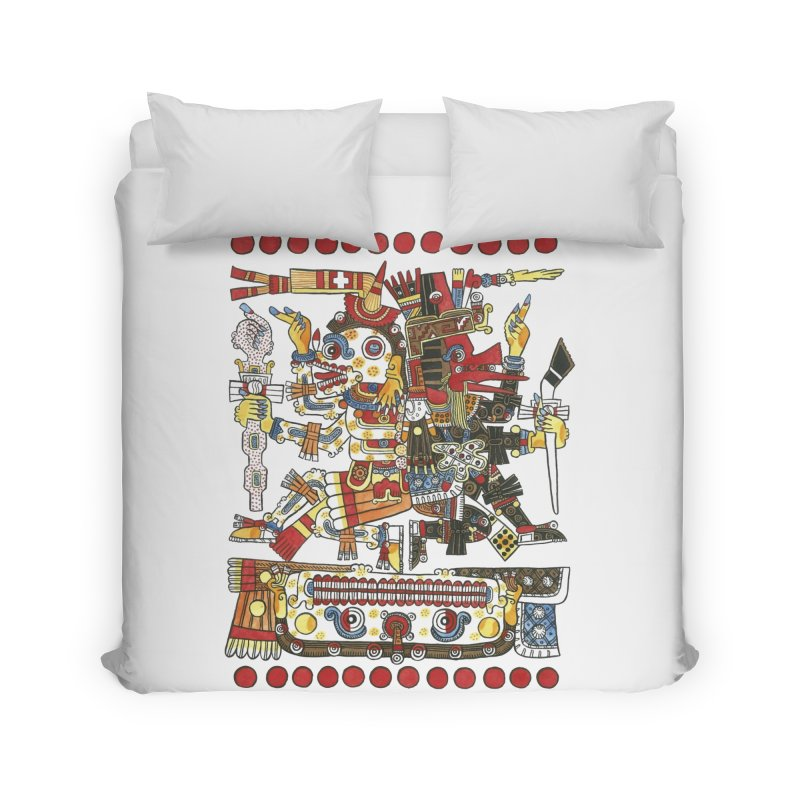 Codex Borgia Detail Home Duvet by Art On Everything