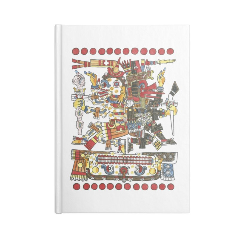 Codex Borgia Detail Accessories Notebook by Art On Everything
