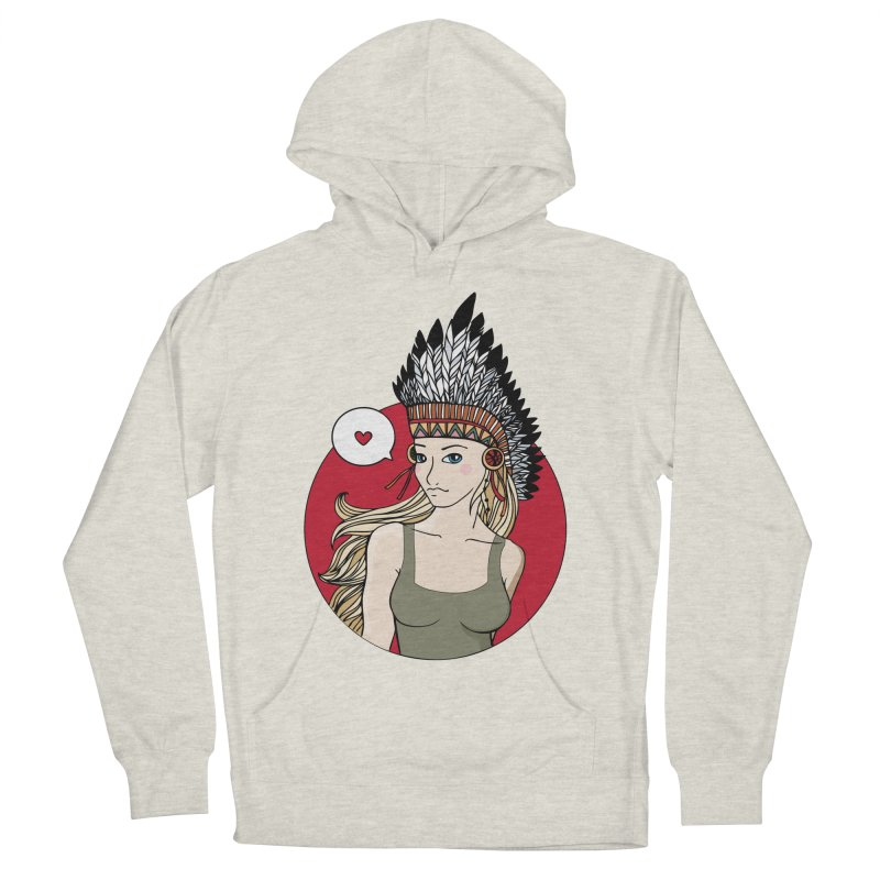 Shoshon Women's French Terry Pullover Hoody by artpanda's Artist Shop