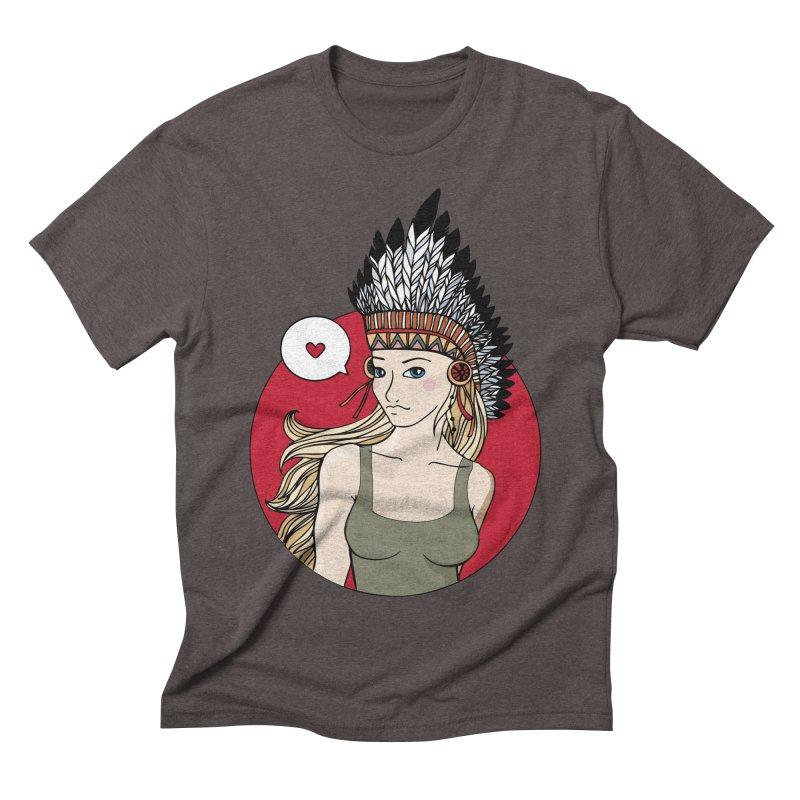Shoshon Men's Triblend T-shirt by artpanda's Artist Shop
