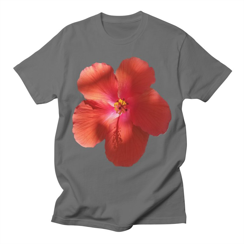 Hibiscus Red Men's T-Shirt by ❁Art Peace Designs❁