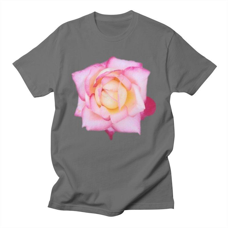 Ombre Rose Men's T-Shirt by ❁Art Peace Designs❁