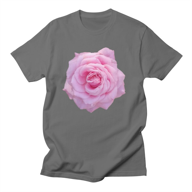 Pink Rose Men's T-Shirt by ❁Art Peace Designs❁