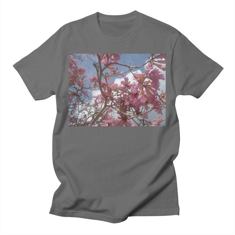 Pink Tree Men's T-Shirt by ❁Art Peace Designs❁