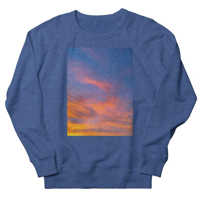 Tangerine Dream Sky Men's Sweatshirt by ❁Art Peace Designs❁