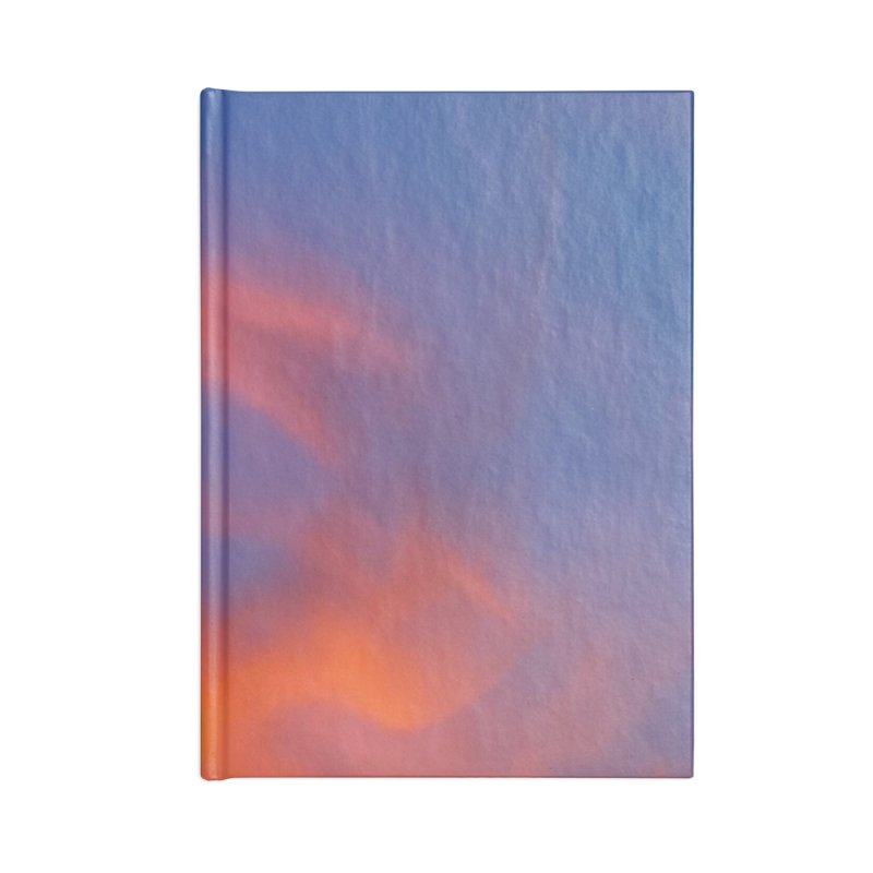 Tangerine Dream Sky Accessories Notebook by ❁Art Peace Designs❁
