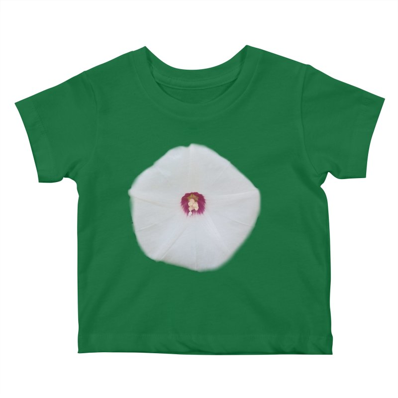 Morning Glory Bloom Kids Baby T-Shirt by ❁Art Peace Designs❁