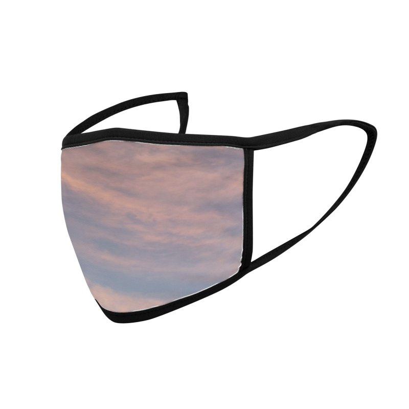 Blush Clouds Accessories Face Mask by ❁Art Peace Designs❁