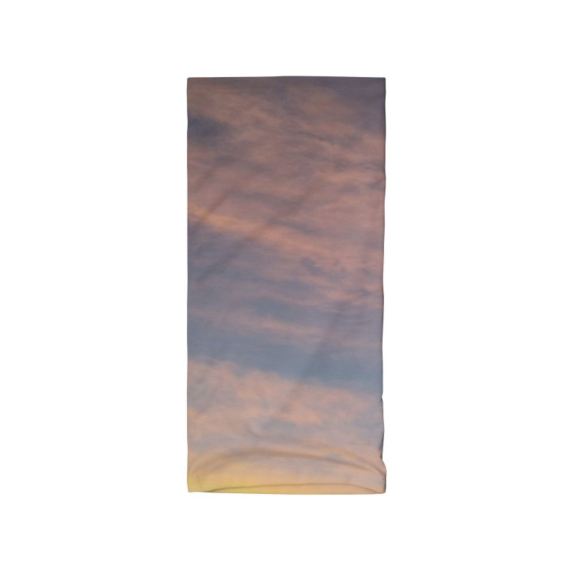 Blush Clouds Accessories Neck Gaiter by ❁Art Peace Designs❁
