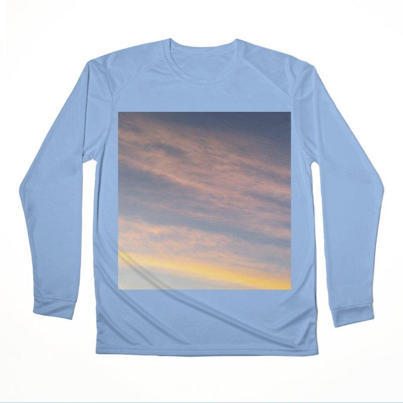 Blush Clouds Men's Longsleeve T-Shirt by ❁Art Peace Designs❁