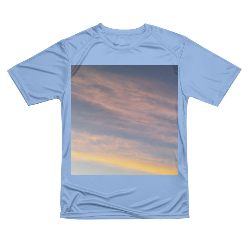 Blush Clouds Men's T-Shirt by ❁Art Peace Designs❁