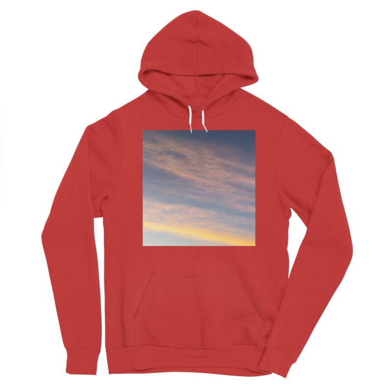 Blush Clouds Men's Pullover Hoody by ❁Art Peace Designs❁