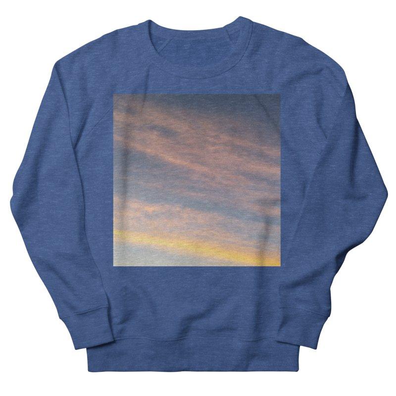 Blush Clouds Men's Sweatshirt by ❁Art Peace Designs❁