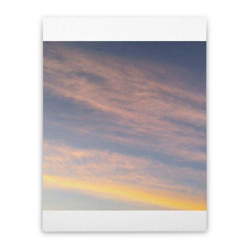 Blush Clouds Home Stretched Canvas by ❁Art Peace Designs❁
