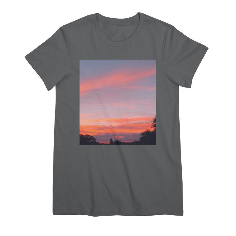 Lavender Sky Women's T-Shirt by ❁Art Peace Designs❁