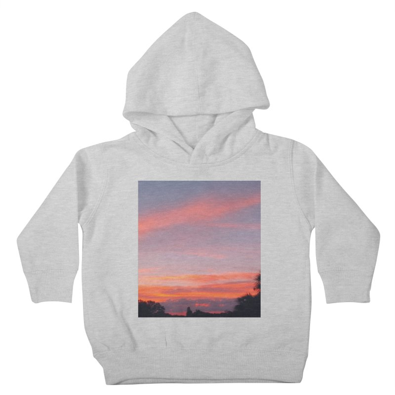 Lavender Sky Kids Toddler Pullover Hoody by ❁Art Peace Designs❁