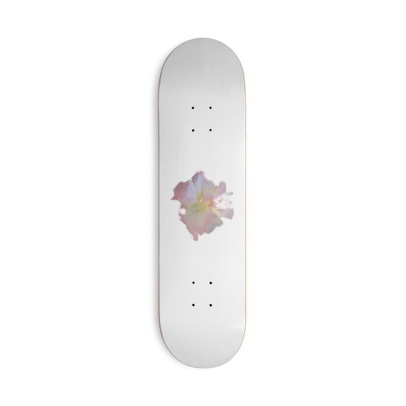Pink Ruffle Hibiscus Accessories Skateboard by ❁Art Peace Designs❁