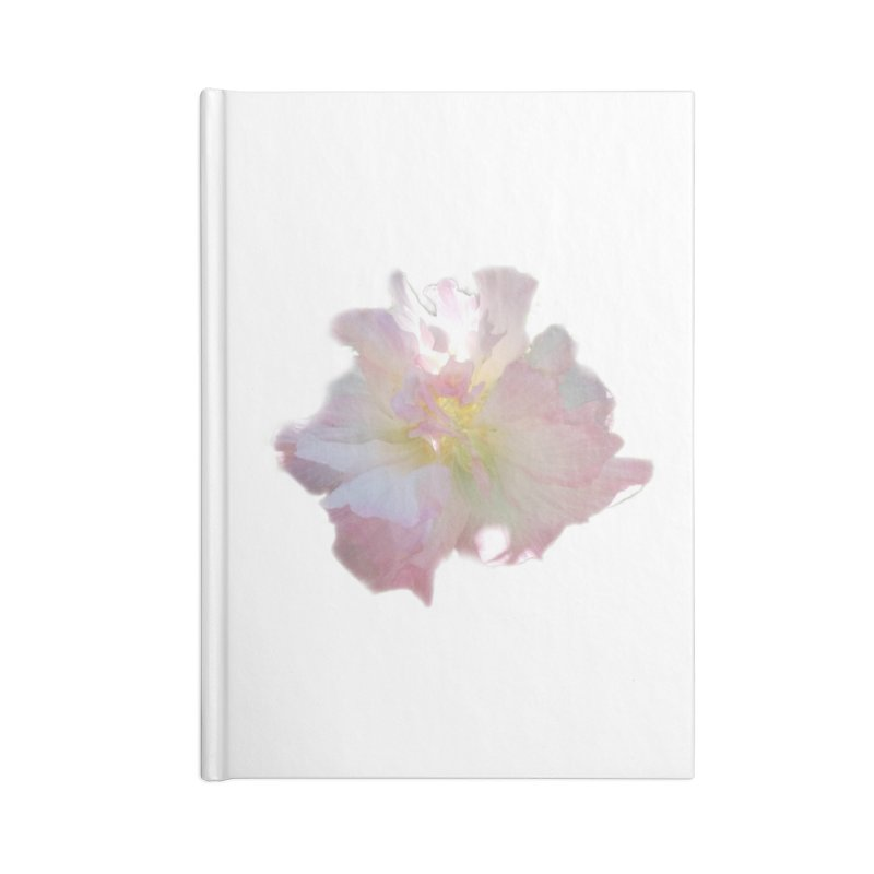 Pink Ruffle Hibiscus Accessories Notebook by ❁Art Peace Designs❁