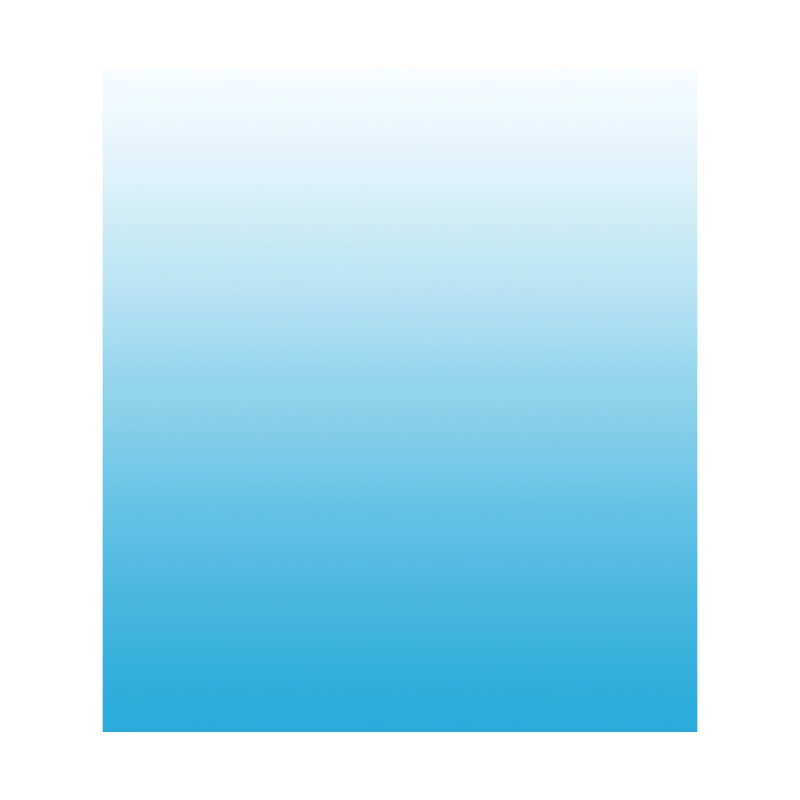 Aqua Ombre Men's Pullover Hoody by ❁Art Peace Designs❁