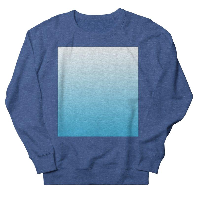 Aqua Ombre Men's Sweatshirt by ❁Art Peace Designs❁