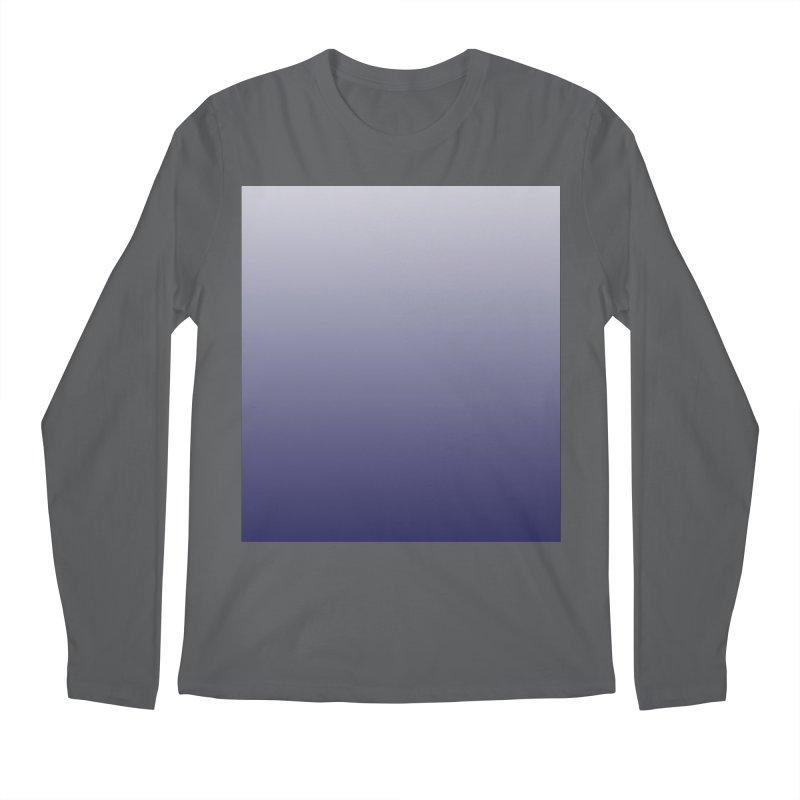 Purple Ombre Men's Longsleeve T-Shirt by ❁Art Peace Designs❁