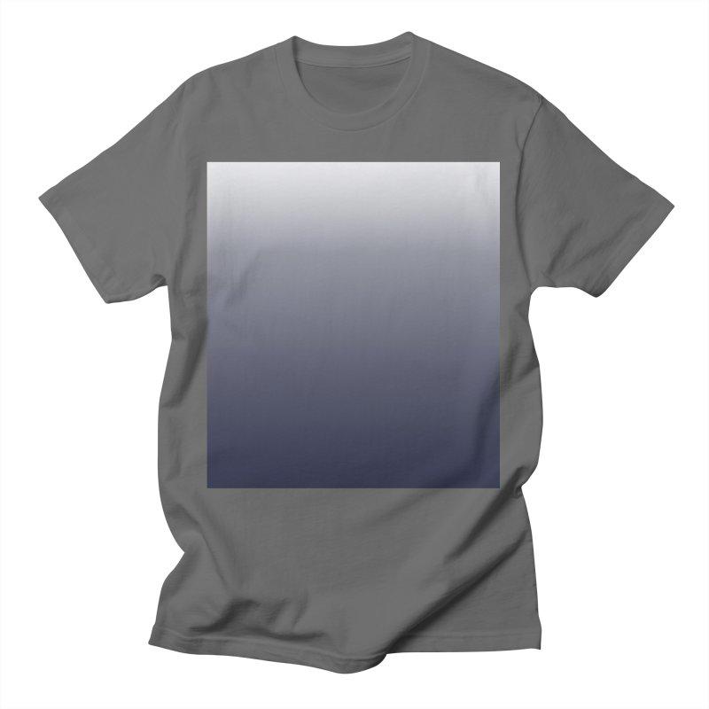 Navy Ombre Men's T-Shirt by ❁Art Peace Designs❁