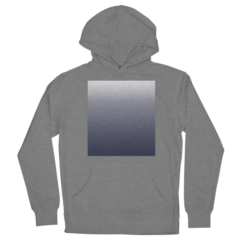 Navy Ombre Women's Pullover Hoody by ❁Art Peace Designs❁