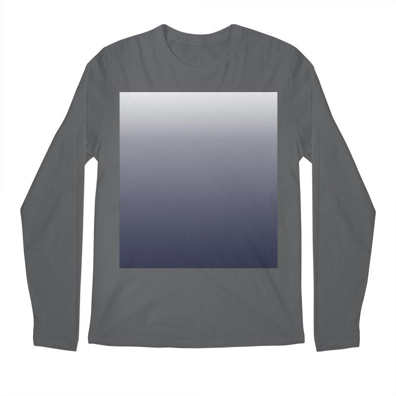 Navy Ombre Men's Longsleeve T-Shirt by ❁Art Peace Designs❁