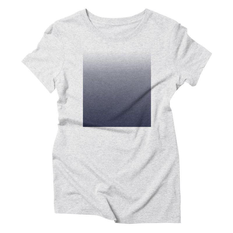 Navy Ombre Women's T-Shirt by ❁Art Peace Designs❁