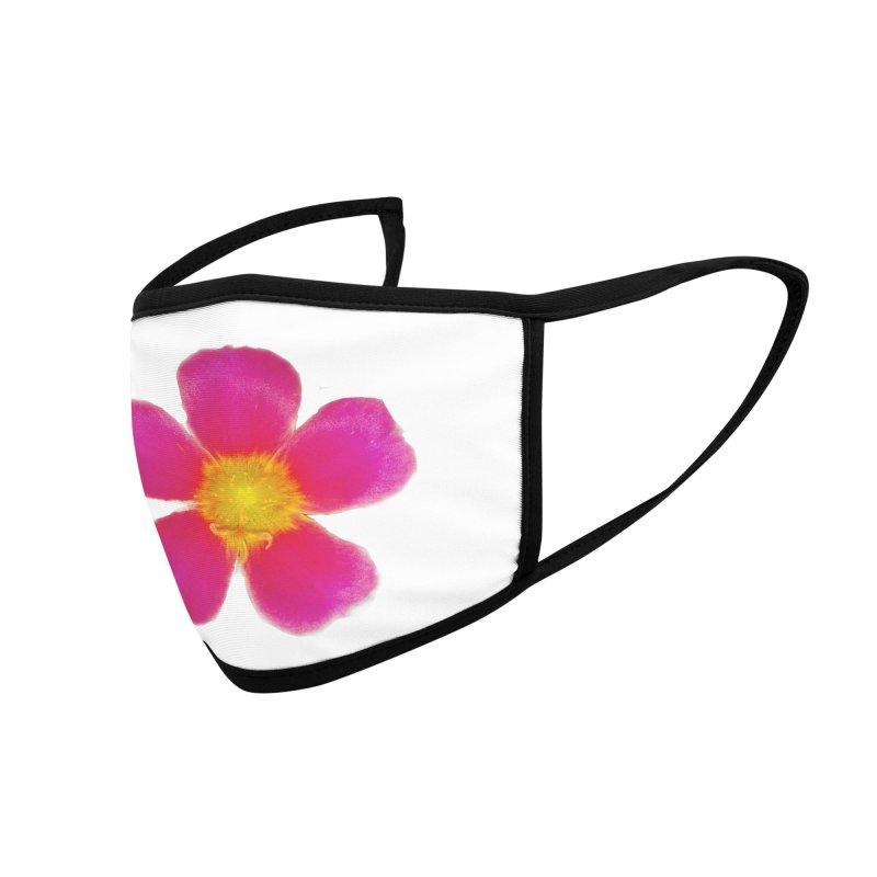 Purslane Toucan Fuchsia Accessories Face Mask by ❁Art Peace Designs❁