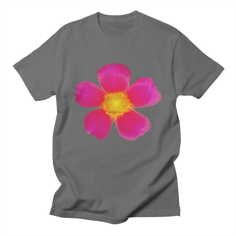 Purslane Toucan Fuchsia Men's T-Shirt by ❁Art Peace Designs❁