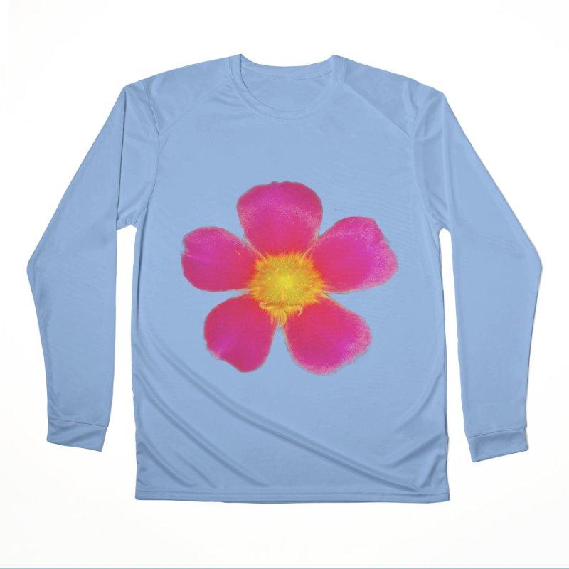 Purslane Toucan Fuchsia Men's Longsleeve T-Shirt by ❁Art Peace Designs❁