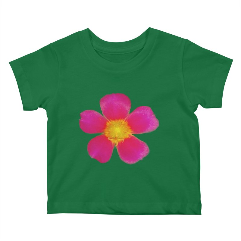 Purslane Toucan Fuchsia Kids Baby T-Shirt by ❁Art Peace Designs❁