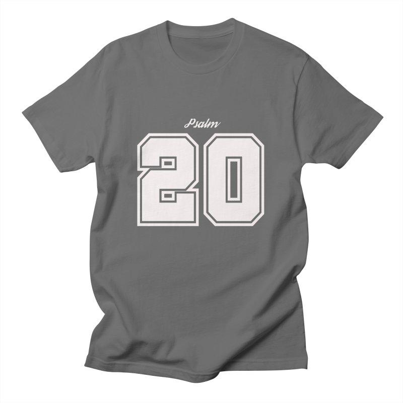 Psalm 20 Men's T-Shirt by ❁Art Peace Designs❁