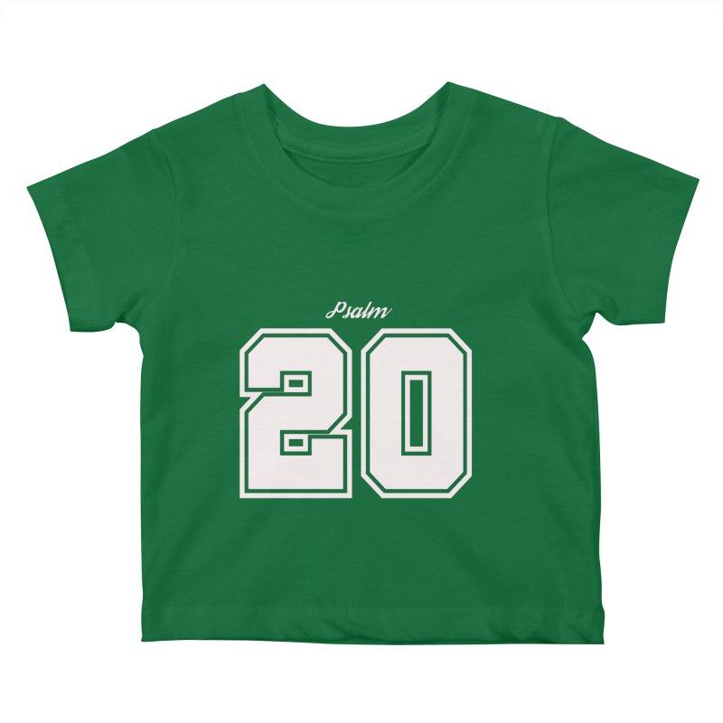 Psalm 20 Kids Baby T-Shirt by ❁Art Peace Designs❁