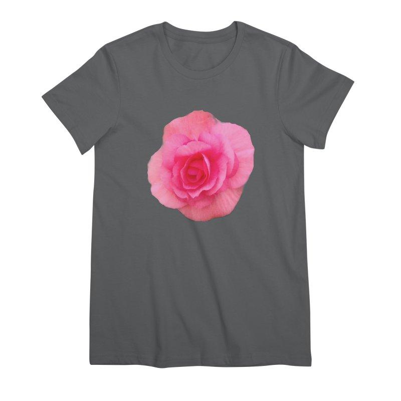Begonia Women's T-Shirt by ❁Art Peace Designs❁