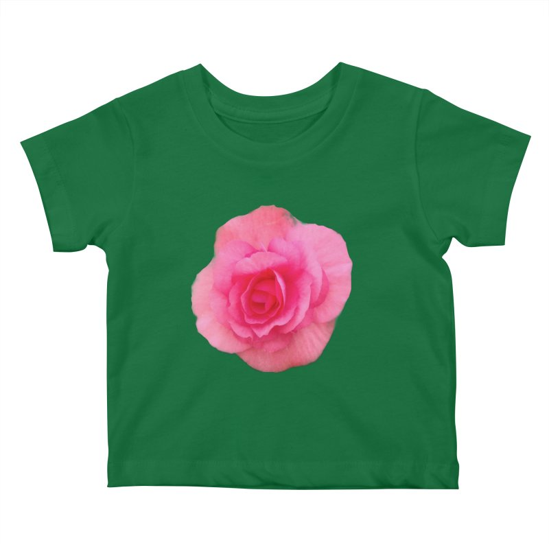 Begonia Kids Baby T-Shirt by ❁Art Peace Designs❁