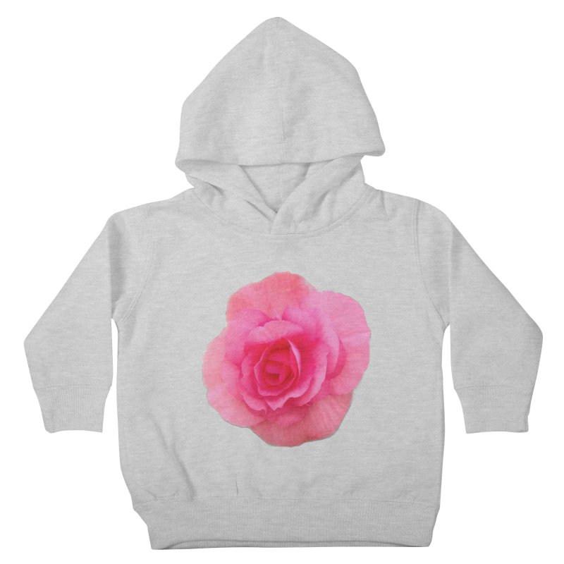 Begonia Kids Toddler Pullover Hoody by ❁Art Peace Designs❁