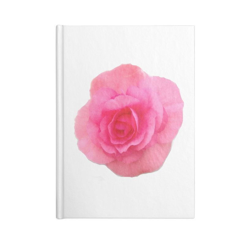 Begonia Accessories Notebook by ❁Art Peace Designs❁
