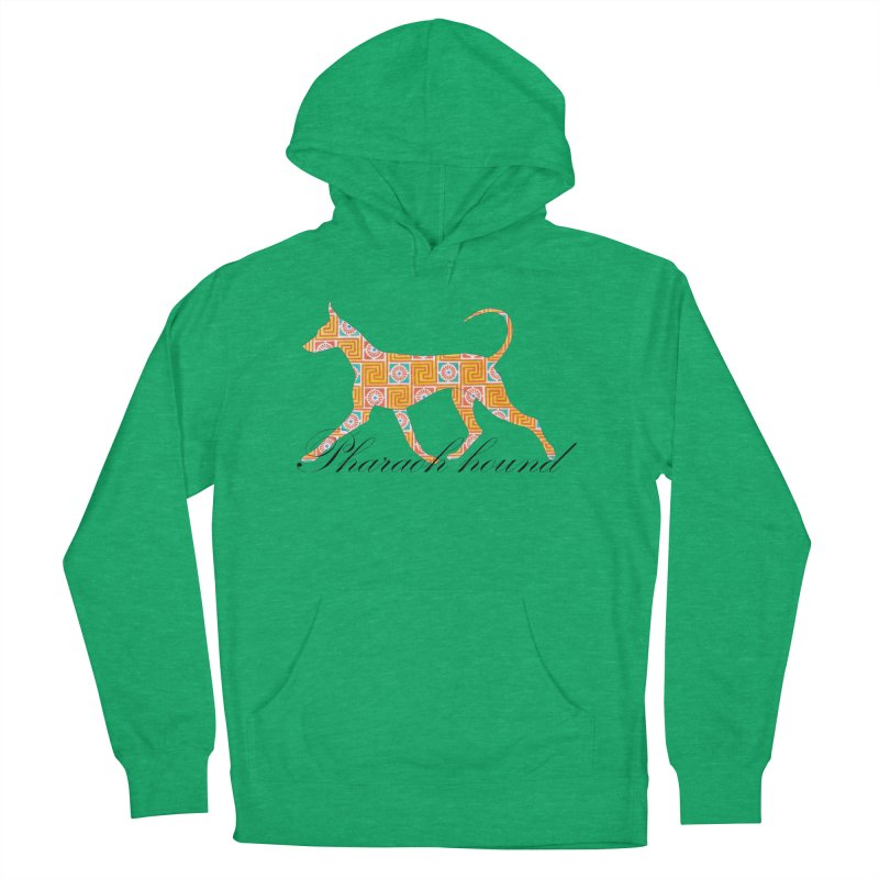 Pharaoh hound Women's French Terry Pullover Hoody by ArtPharie's Artist Shop