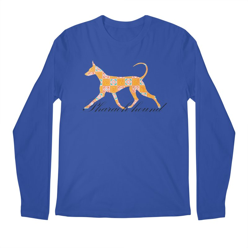 Pharaoh hound Men's Regular Longsleeve T-Shirt by ArtPharie's Artist Shop