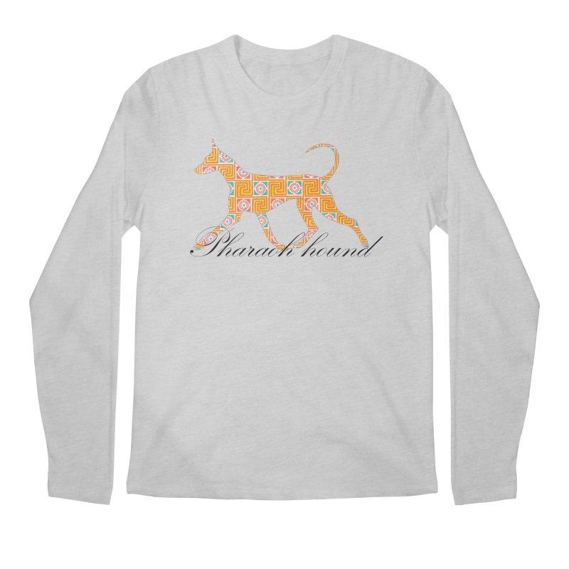 Pharaoh hound Men's Regular Longsleeve T-Shirt by ArtPharie's Artist Shop